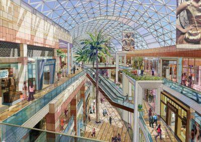 skywalk view mall interior