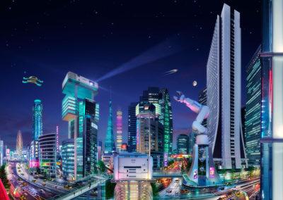 Epson Tokyo Future Cities campaign