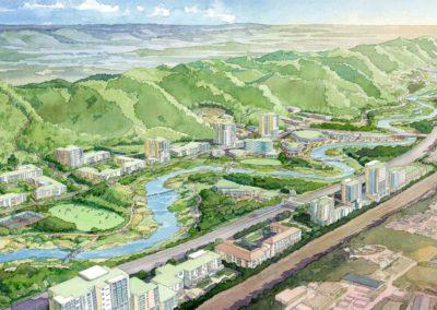Huaxi River master plan