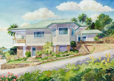house in Lanikai, Hawaii