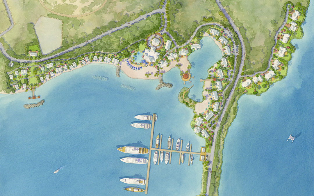 Destination Resort Site Plan