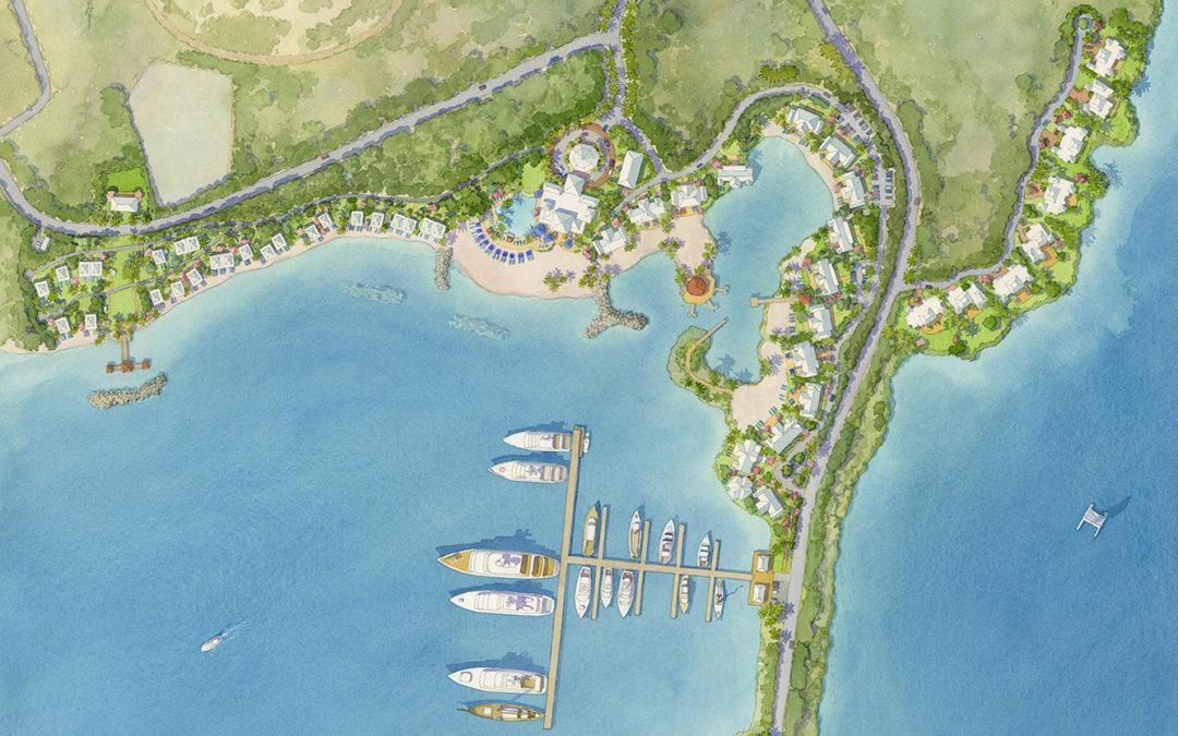 Destination Resort Site Plan