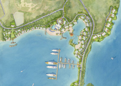Island resort master plan