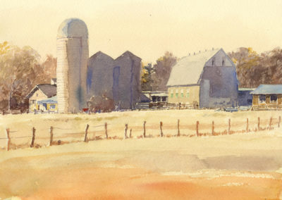 Corn Silos, Indiana