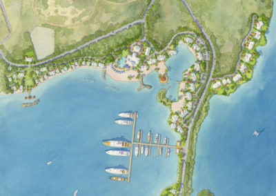 Resort plan, Bahamas