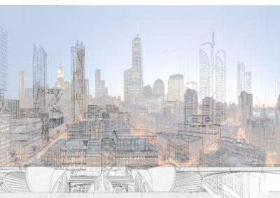 New York design overlay