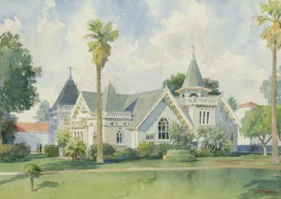 Wadsworth Chapel, Westwood, CA.