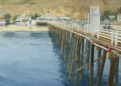 Pier view, Malibu