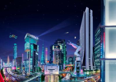 Epson Tokyo by Glen Wexler
