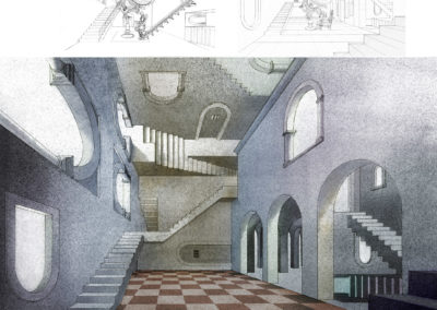 Escher Vision design development by J Messer