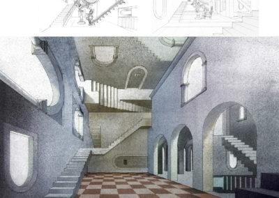 Escher Vision design development drawings